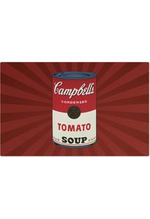 Jogo Americano Nerderia Campbells Vermelho
