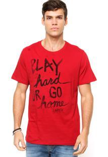 Camiseta Sommer Play Vermelha