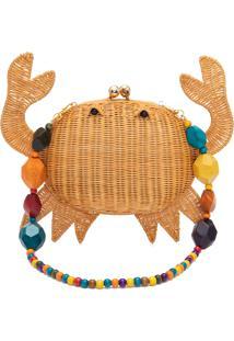 Bolsa Feminina Crab - Bege