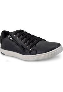 Sapatenis Masc Ped Shoes 11006-A Preto