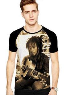 Camiseta Stompy Raglan Modelo 83 Masculina - Masculino