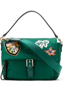 Tory Burch Bolsa Tiracolo Tilda Patches - Verde