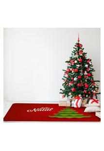 Tapete De Natal Para Sala Feliz Natal Árvore Único