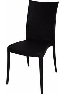 Cadeira Laura Fibra De Vidro Cor Preto - 21698 - Sun House