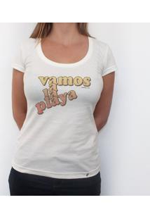 Vamos A La Playa - Camiseta Clássica Feminina