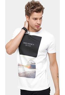 Camiseta Side Way Santa Monica Masculina - Masculino