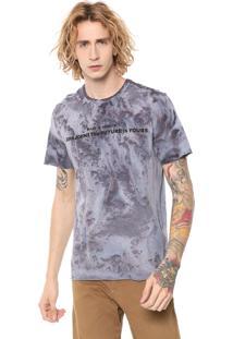 Camiseta John John Stained Azul/Roxa