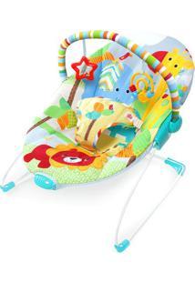 Cadeira De Descanso Animais- Azul Claro & Vermelha- Bright Starts