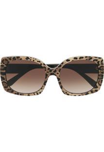 Dolce & Gabbana Eyewear Óculos De Sol Quadrado - Neutro