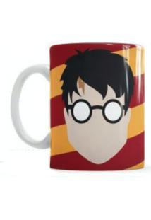 Caneca S De Cerâmica Sude Harry Potter Vermelha
