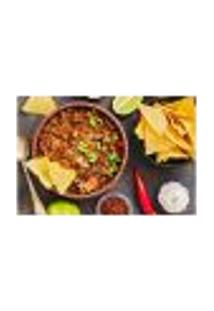 Painel Adesivo De Parede - Comida Mexicana - Restaurante - 1782Pnp