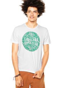 Camiseta Cavalera Addict Branca