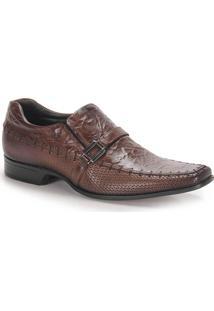 Sapato Social Masculino Rafarillo Las Vegas - Castanho
