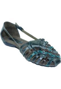 Sapatilha Rustica C Lelive - Feminino-Azul