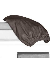 Porta Travesseiro 150 Fios Juma 01 Peça - Tabaco