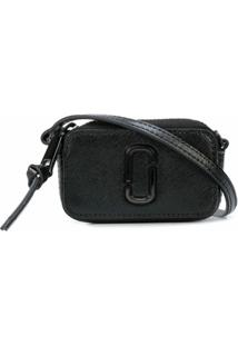 Marc Jacobs Bolsa Transversal The Shot Dtm - Preto