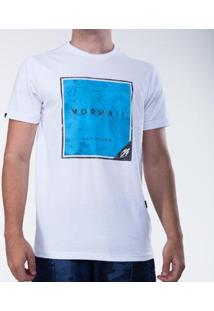 Camiseta Mormaii Garopaba Masculina - Masculino-Branco