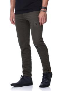 Calça King&Joe Jeans Musgo