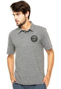 Camisa Polo Hang Loose Cinza