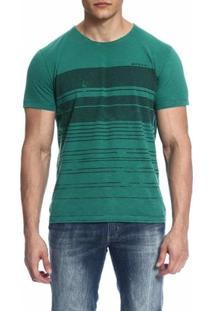 Camiseta Mormaii Estampada - Masculino-Verde