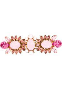 Dolce & Gabbana Presilha Para Cabelo Com Aplicações - Rosa