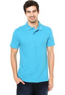 Camisa Polo Malwee Slim Azul