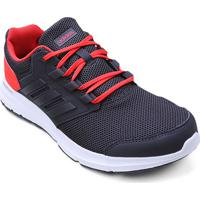 58ffaf86f24 Tênis Adidas Galaxy 4 Masculino - Masculino-Chumbo+Vermelho