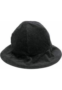 Renli Su Chapéu Bucket De Jérsei - Cinza