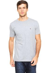 Camiseta Tommy Hilfiger Masculina Tees Cinza