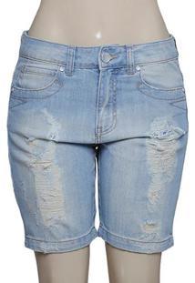 Bermuda Fem Dopping 13158539 Cor Jeans