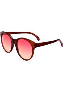 Óculos De Sol Ray Flector Vtg626Co Vermelho