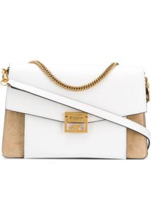 Givenchy Medium Gv3 Shoulder Bag - Branco
