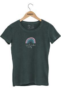 Camiseta Forseti Estonada Good Vibes Verde - Kanui