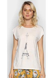 Camiseta Triton Paris Feminina - Feminino