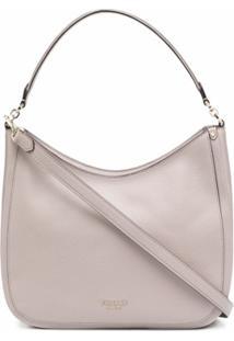 Kate Spade Leather Shoulder Bag - Neutro