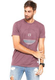 d591fc3933 ... Camiseta Hang Loose Silk Circlestripe Vinho
