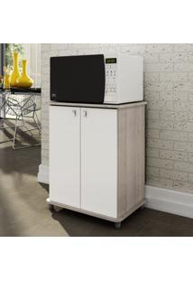 Armário De Cozinha 2 Portas Asm 155 Branco - Móvel Bento