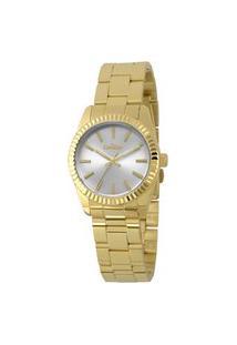 Relógio Condor Feminino Clássico Analógico Dourado Co2035Ezqk4K