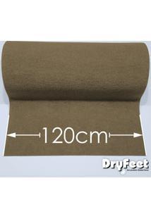 Tapete Dryfeet Bege 120Cm De Largura Por Até 10 Metros De Comprimento