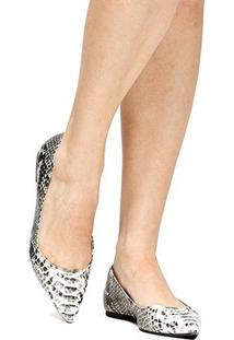 Sapatilha Shoestock Snake Pb - Feminino
