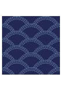 Papel De Parede Adesivo Abstrato Azul 0191 Rolo 0,58X3M
