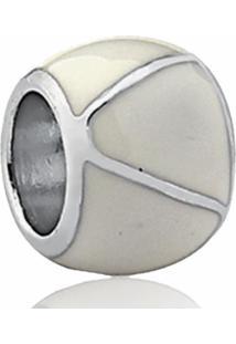 Pingente De Prata 925 Charms De Berloque Branco