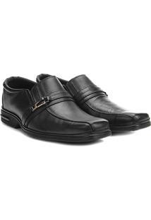 Sapato Social Couro Walkabout Phoenix - Masculino-Preto