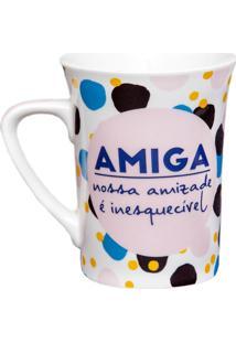 Caneca Amiga 340Ml - Dolce Home - Colorido