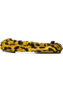 Dolce & Gabbana Sapatilha Animal Print - Amarelo