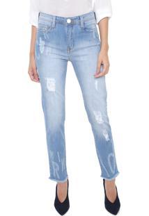 Calça Jeans Carmim Slim Maui Azul