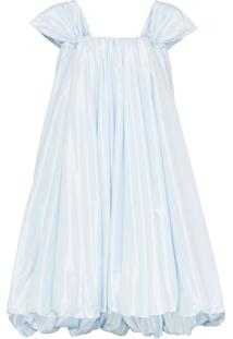Simone Rocha Vestido Balonê - Azul