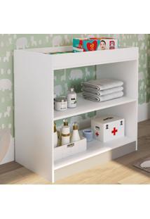 Cômoda De Bebê 1 Prateleira Tr1080 Branco - Art In Móveis