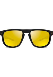 Óculos De Sol Oakley Holbrook R Masculino - Masculino-Preto