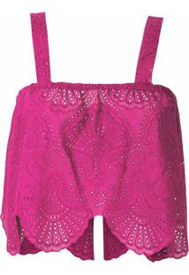 Olympiah Top Cropped Nielle Laise - Rosa